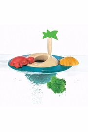 Plan Toys Wooden Floating Island - Front cropped