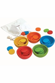 Plan Toys Wooden Sorting Coins - Product Mini Image
