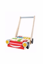 Plan Toys Wooden Walker & Blocks - Product Mini Image