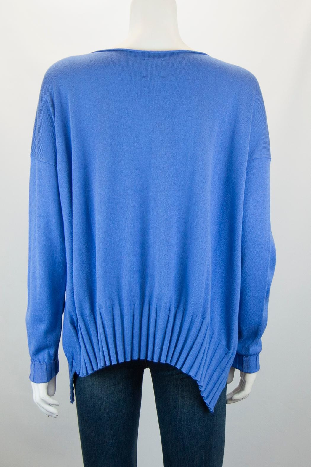 Planet Boatneck Sweater - Side Cropped Image