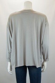 Planet Foil Boxy Tee - Front full body