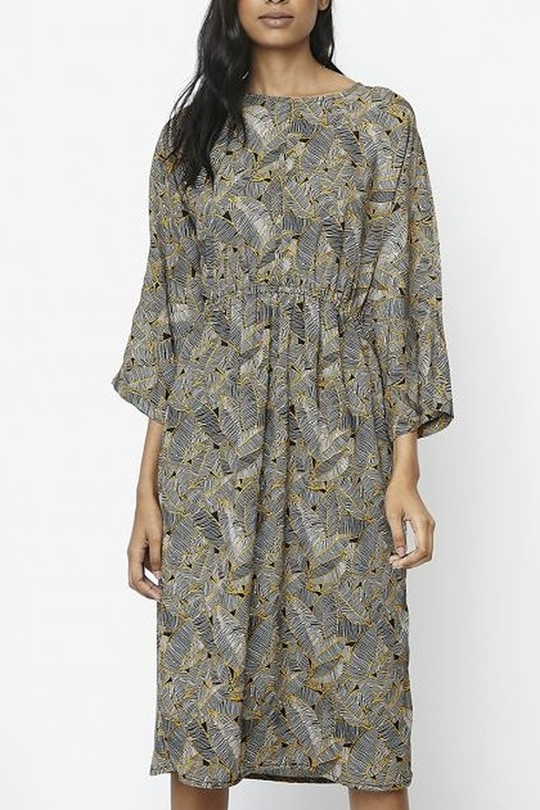 Compania Fantastica Plant Print Dress - Main Image