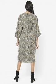 Compania Fantastica Plant Print Dress - Front full body