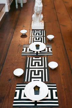 Plat du Jour Greek Key Placemat - Alternate List Image