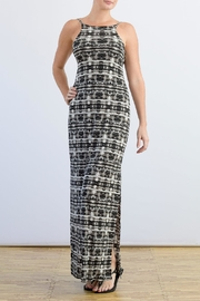 Myskova Platano Long Dress - Product Mini Image