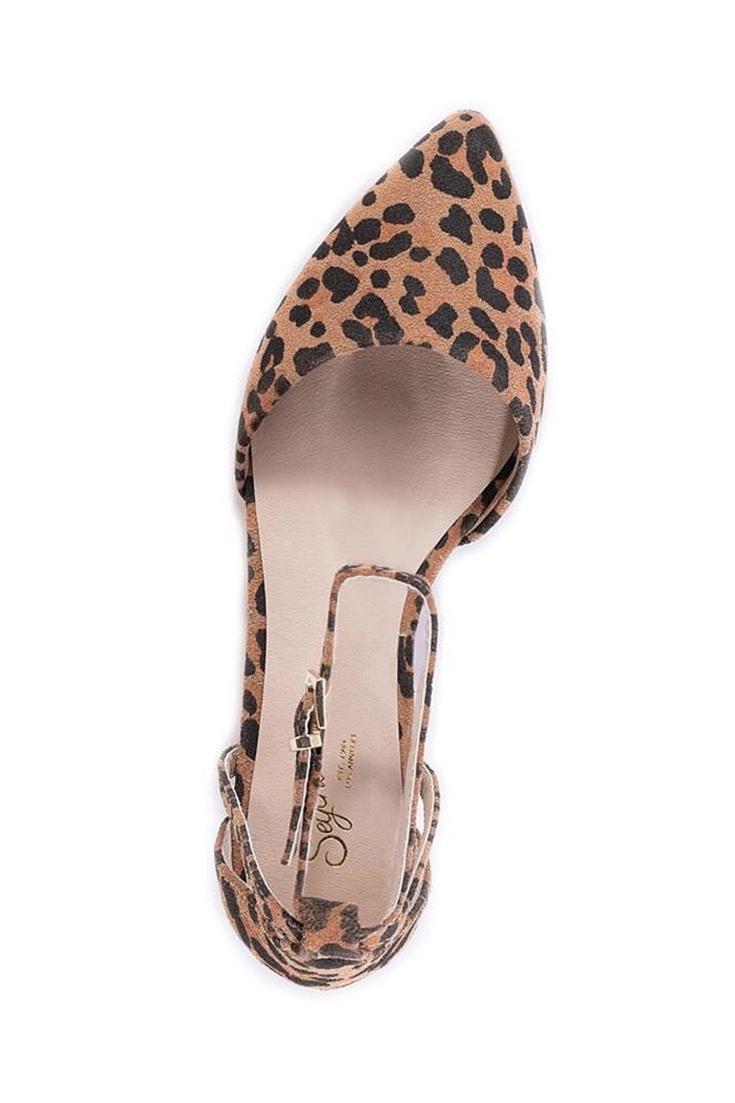 Seychelles Shoes Plateau Leopard Suede Wedge - Front Cropped Image