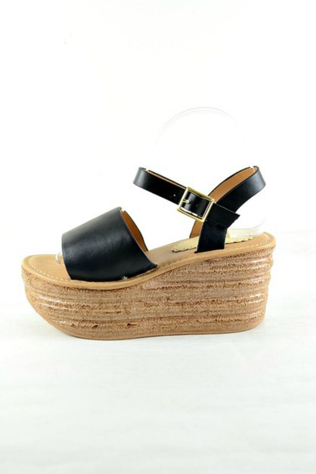 Imagine That Platform Sandals - Front Full Image