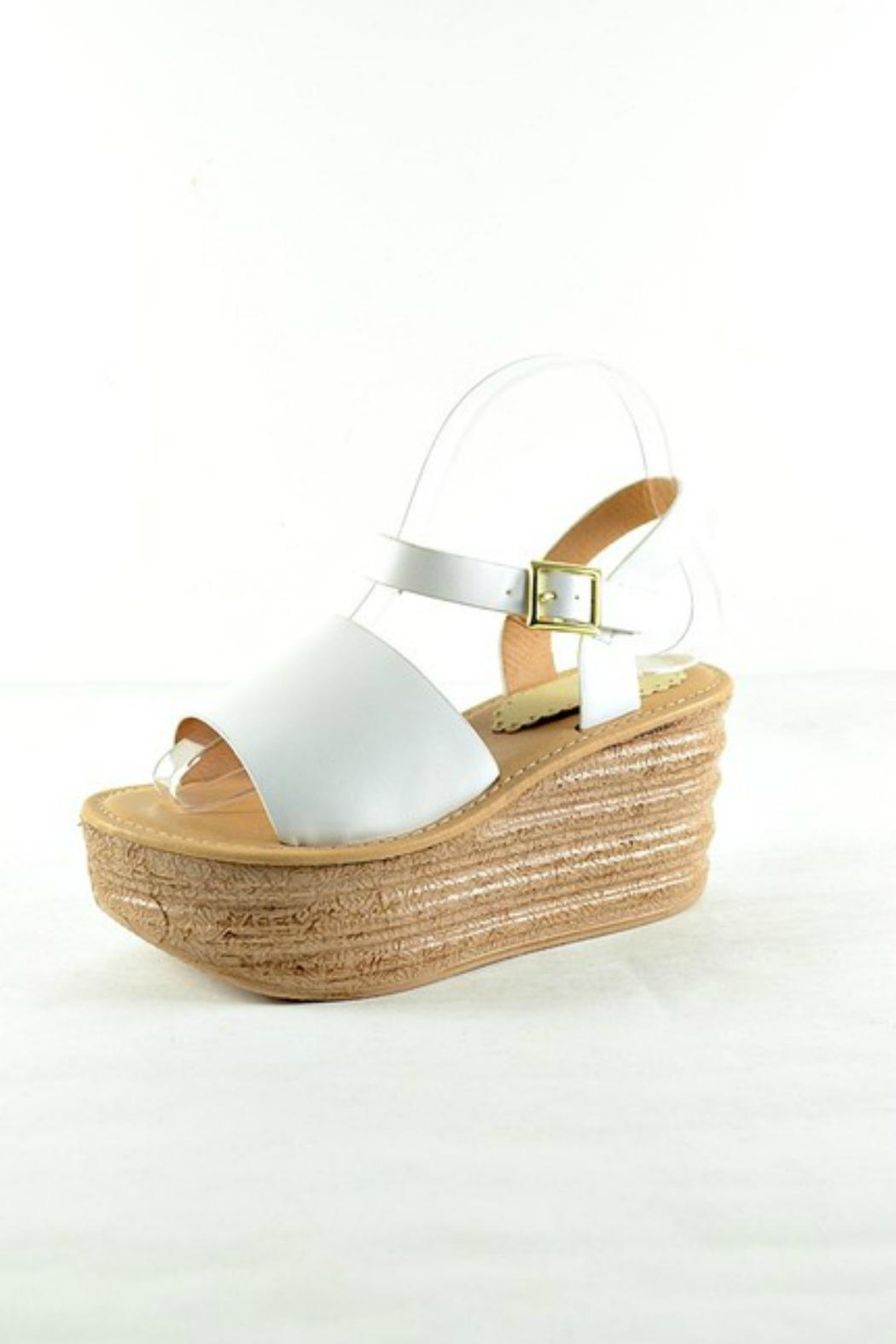 Imagine That Platform Sandals - Front Cropped Image