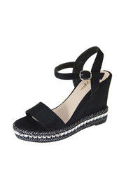 Bella Marie Platform Wedge Sandal - Product Mini Image