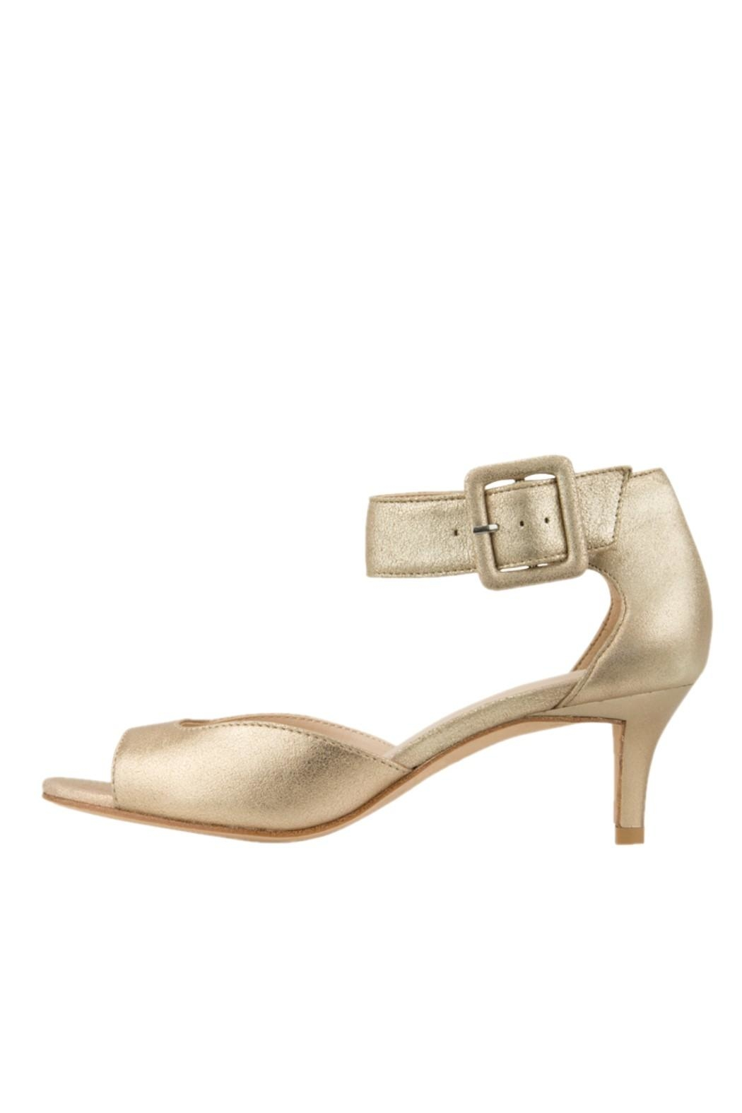 Pelle Moda Platino Ankle Sandal - Front Cropped Image