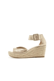 Pelle Moda Platinum Espadrille Wedge - Product Mini Image