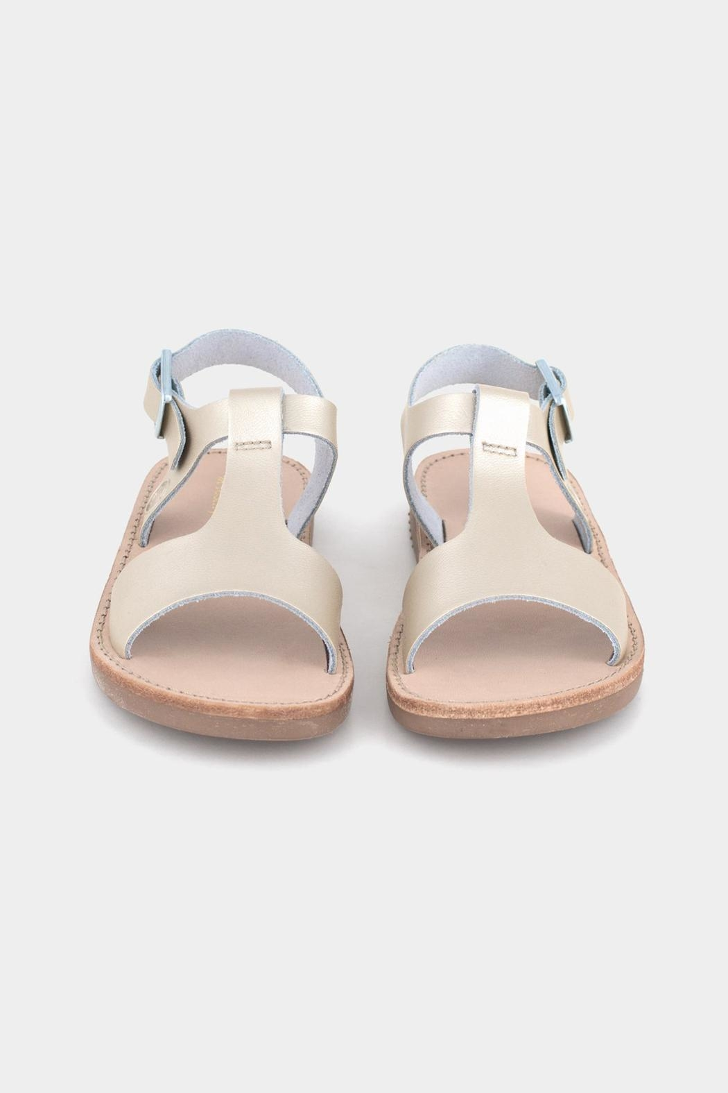 Freshly Picked Platinum Malibu Sandal - Side Cropped Image