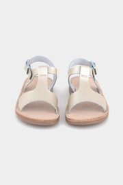 Freshly Picked Platinum Malibu Sandal - Side cropped