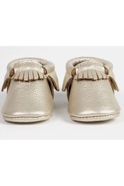 Freshly Picked Platinum Moccasin - Front full body