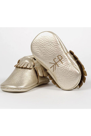 Freshly Picked Platinum Moccasin - Back cropped