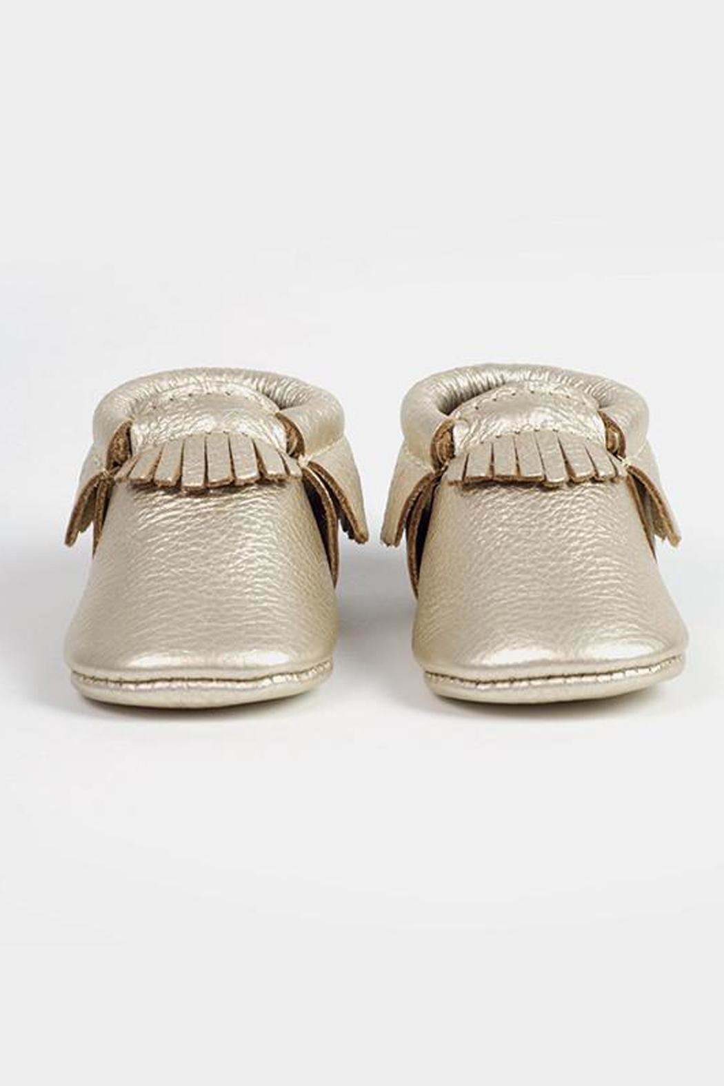 Freshly Picked Platinum Moccasin - Side Cropped Image