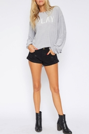 Sadie & Sage Play Graphic Pullover - Front cropped