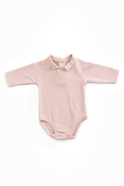 Play Up Body Rib Stitch Organic Cotton Baby Jumpsuit with Neck - Product Mini Image