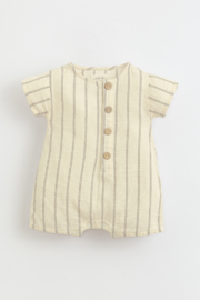 Play Up Jersey jumpsuit with coconut buttons | Botany - Product Mini Image