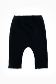 Play Up Organic Cotton Jersey Leggings For Baby Girls - Front full body