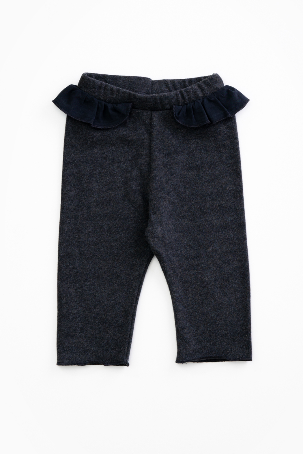 Play Up Organic Cotton Jersey Leggings with frill for baby girls - Main Image