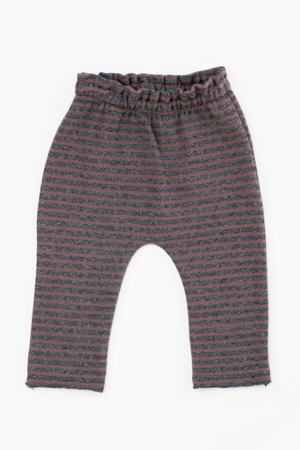 Play Up Organic Cotton Stripped Jersey Leggings for Baby Girls - Main Image