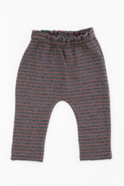 Play Up Organic Cotton Stripped Jersey Leggings for Baby Girls - Product Mini Image