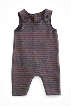 Play Up Sleeveless dungarees in organic cotton - Product List Image