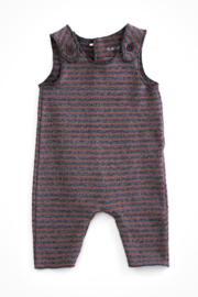 Play Up Sleeveless dungarees in organic cotton - Product Mini Image