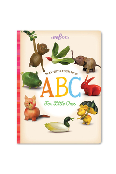Eeboo Play With Your Food ABC Board Book - Alternate List Image