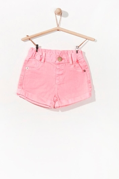 Play Up Neon Cuff Shorts - Product List Image