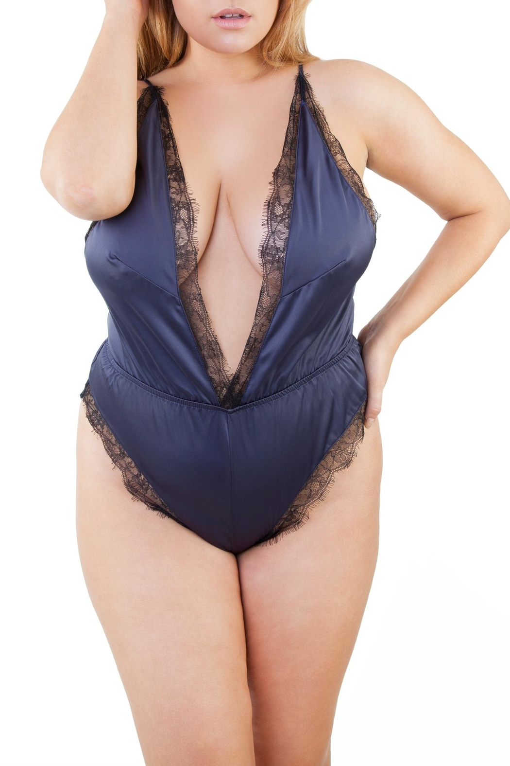 Playful Promises Alicia Teddy Sleepwear - Front Cropped Image