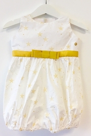 Mandy by Gema Playsuit Lucky Stars White - Front full body