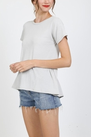 Very J Pleat Back Top - Product Mini Image
