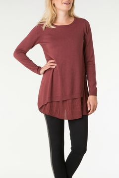 Yest Pleat Bottom Sweater - Product List Image
