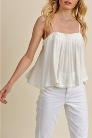 jane+1 Pleat Detail Tank - Product Mini Image