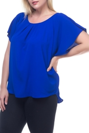 Spin USA Pleat Detail Top - Product Mini Image