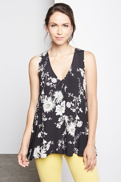 Karen Kane Pleat front tank top - Product List Image