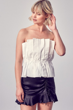 Do & Be Pleat Me Out Top - Product List Image