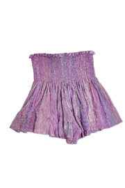 Queen Of Sparkles Pleat Swing Short - Product Mini Image