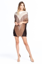 Nabisplace Pleated Adedepattern  Dress - Front cropped
