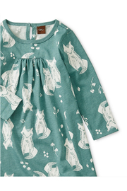 Tea Collection Pleated Baby Dress - Front full body
