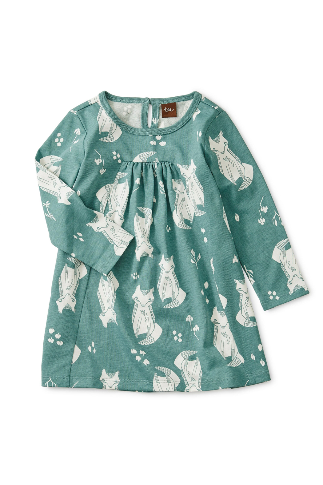 Tea Collection Pleated Baby Dress - Main Image