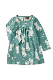 Tea Collection Pleated Baby Dress - Front cropped