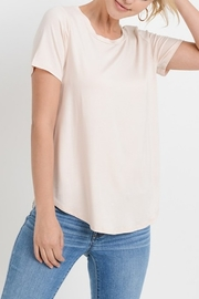 Papercrane Pleated Back Top - Front full body