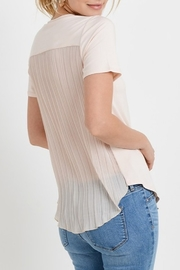 Papercrane Pleated Back Top - Front cropped