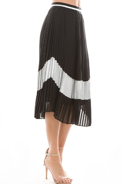 Shoptiques Product: Pleated Black Skirt