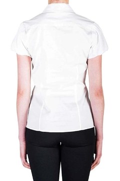 virgin only Pleated Button Blouse - Alternate List Image