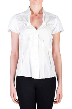 virgin only Pleated Button Blouse - Product List Image