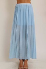 1 Funky Pleated Chiffon Skirt - Product Mini Image